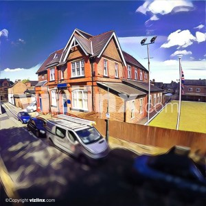Alderley Edge Union Club illustration