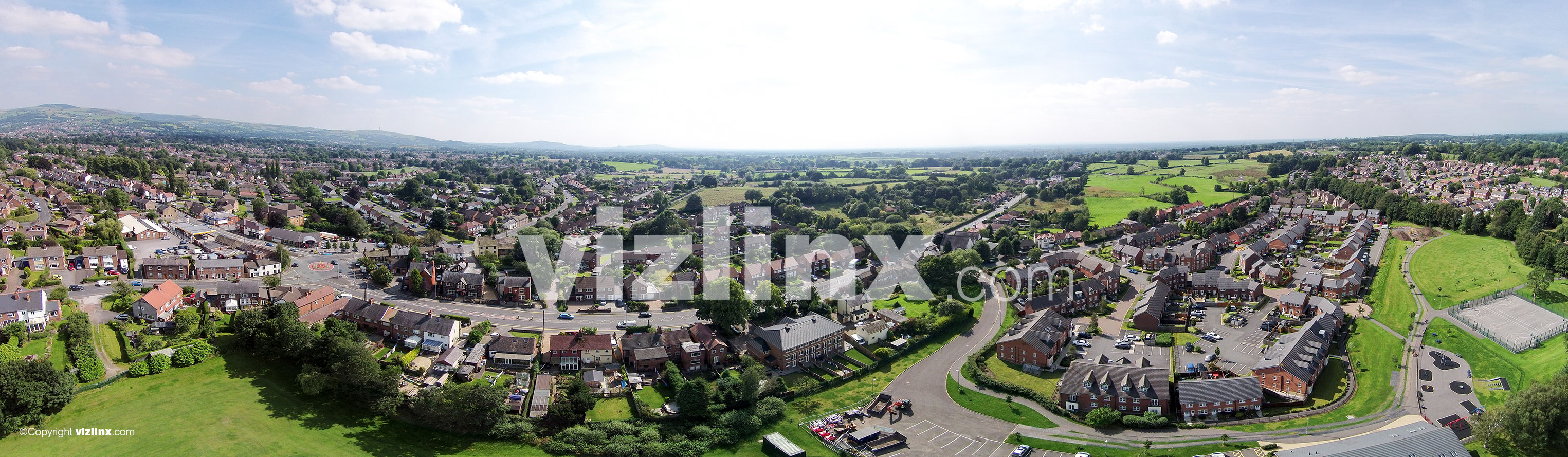 360 panorama of Macclesfield