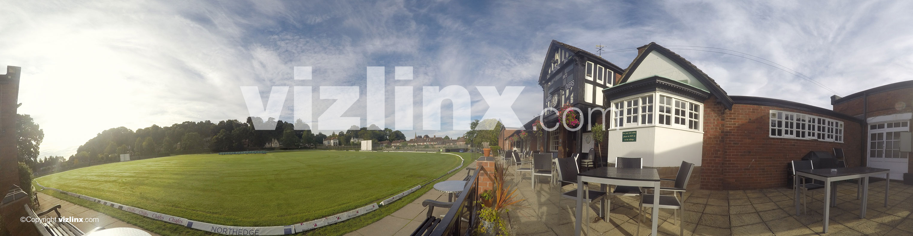 360 panorama of Alderley Edge Cricket Club