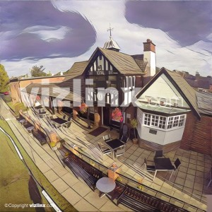 Alderley Edge Cricket Club illustration