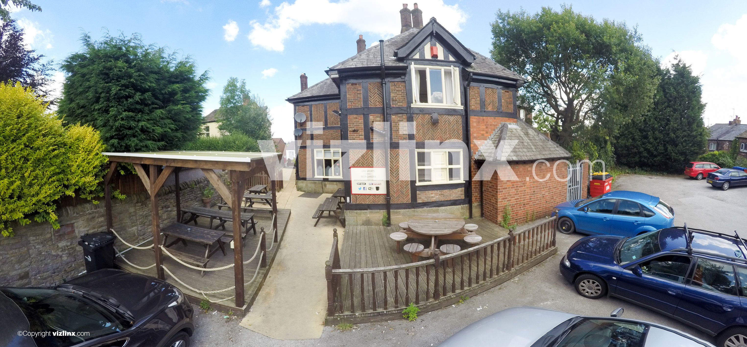 Panorama of The Pack Horse